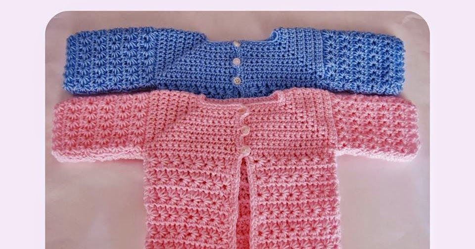 Easy Newborn Crochet Cardigan Free Pattern A Star Is Born Crochet Baby Cardigan Crochet Baby Patterns Baby Sweater Patterns