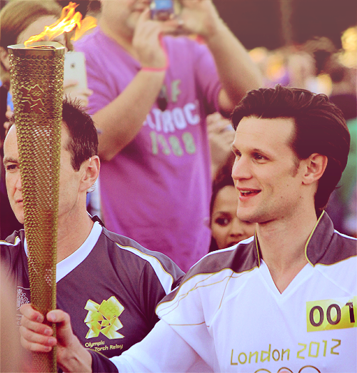 carrying the torch in cardiff