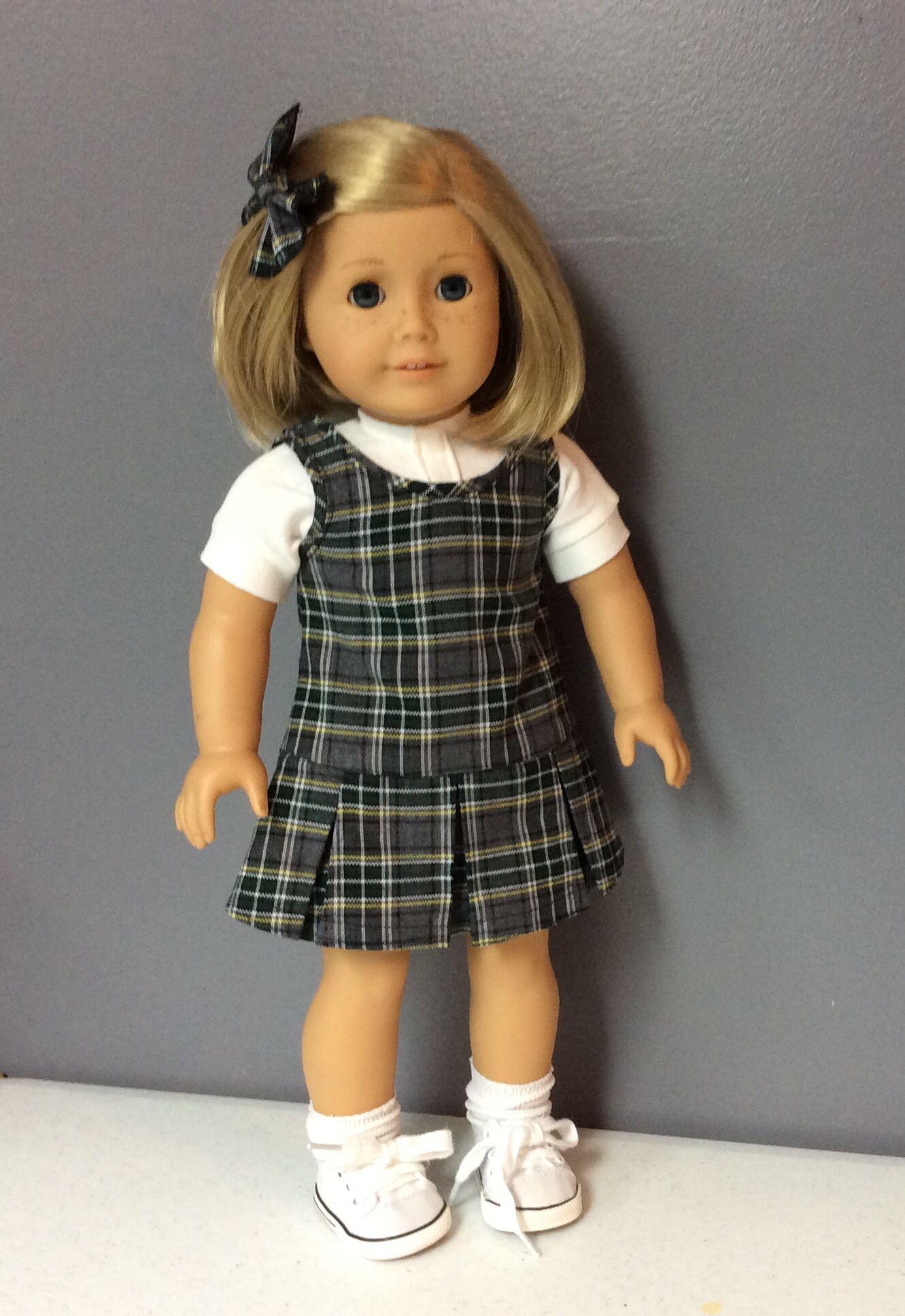 School Uniform For American Girl Dolls