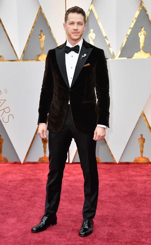 Josh Dallas From Oscars 2017 Red Carpet Arrivals Josh Dallas Best Dressed Man Nice Dresses