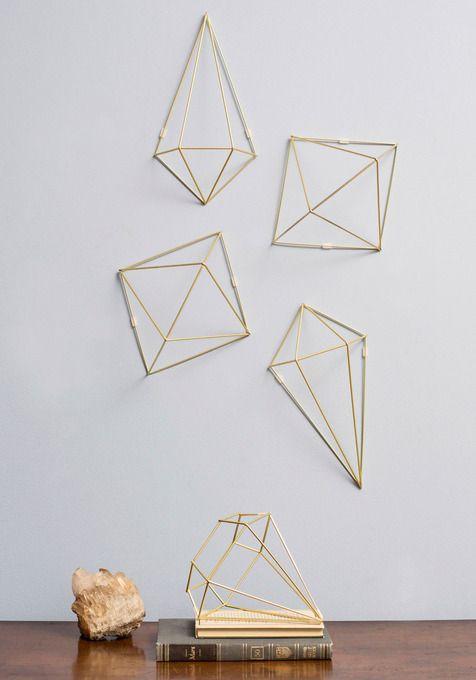 Gold Diamond Wall Decor