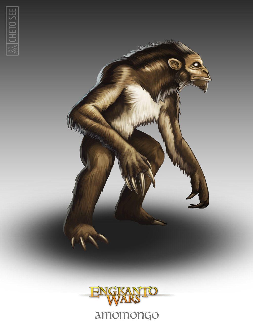Amomongo - The Amomongo is a creature of Philippine