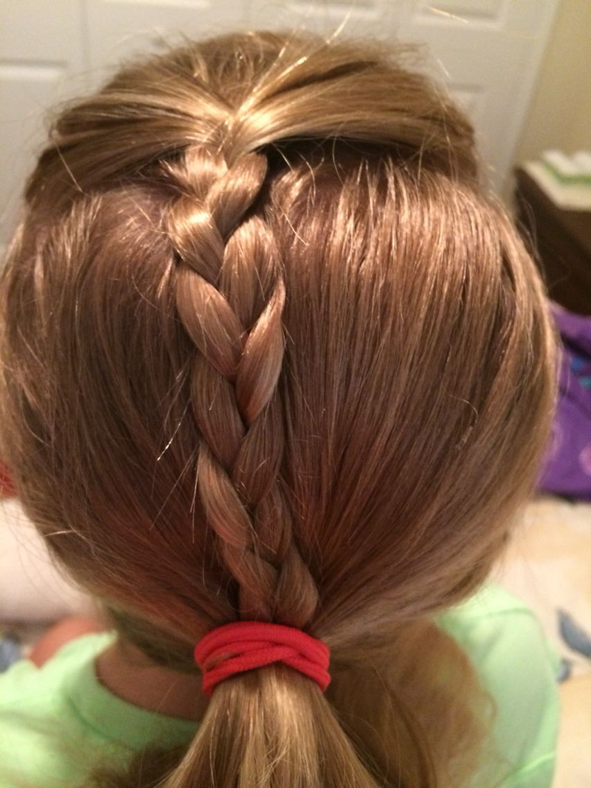 This Is Like Alex Morgans Soccer Hairstyle Except Its A Braid Instead Of Fishtail