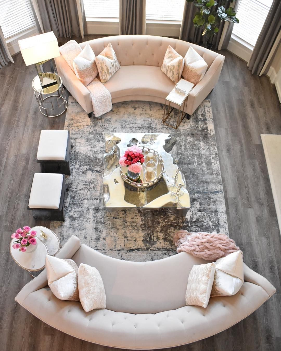Happy Sunday Sharing This Never Before Seen View To Show You Guys My Beautiful New Rug From Boutiquerugs Living Room Designs Home Decor Inspiration Home View home decor for living room table