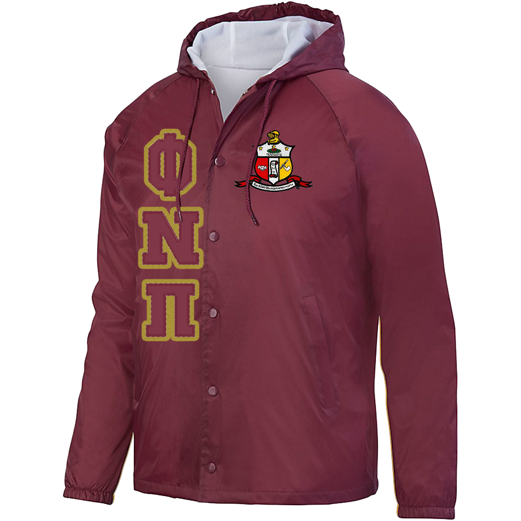 Kappa Alpha Psi - Phi Nu Pi - Hooded Crossing Jacket in 2019