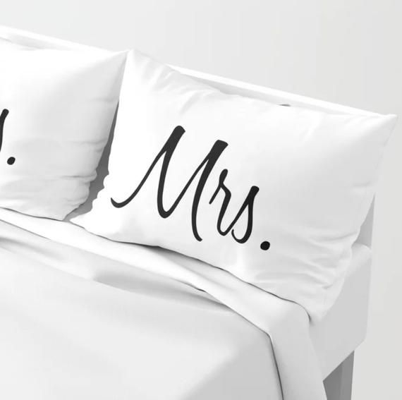 Mr & Mrs Pillow Shams | Standard and