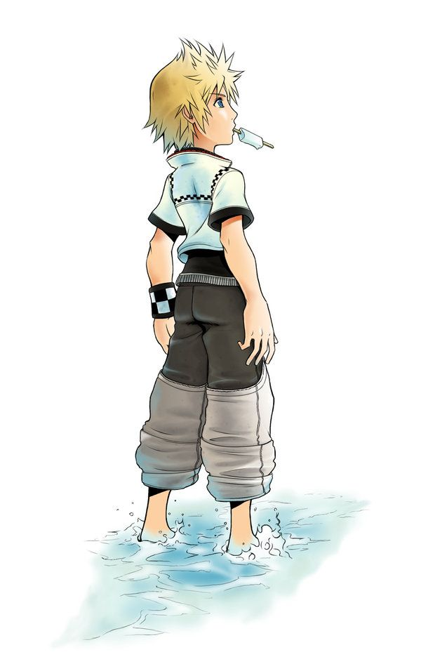 Roxas mirror by *mishelly88 on deviantART | Kingdom hearts ...