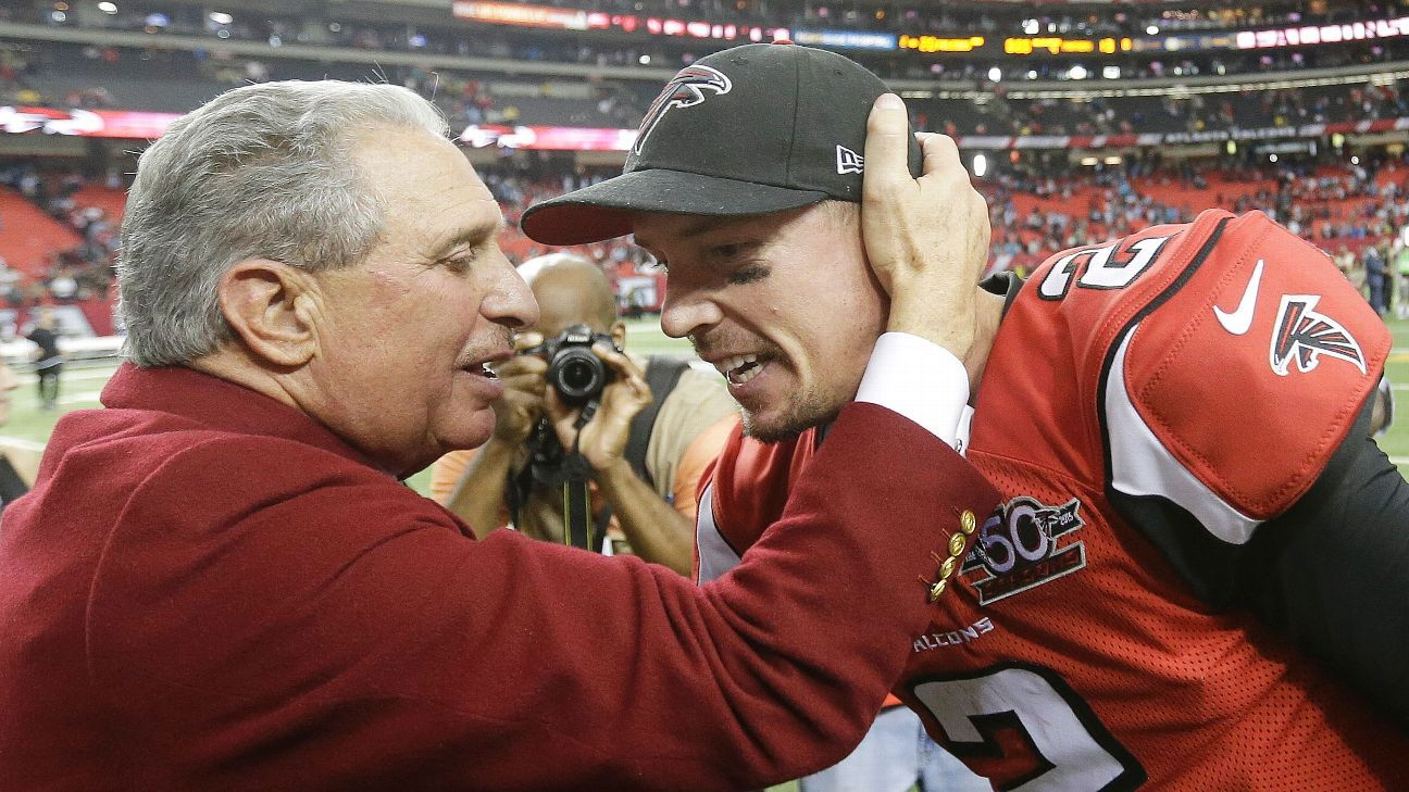 Falcons Owner Qb Ryan Will Be Compensated Well Matt Ryan Arthur Blank Ryan