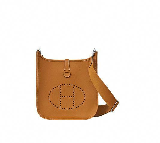 07acec0471f0 Evelyne III Hermes shoulder bag in Epsom calfskin (size PM) Measures 11.3