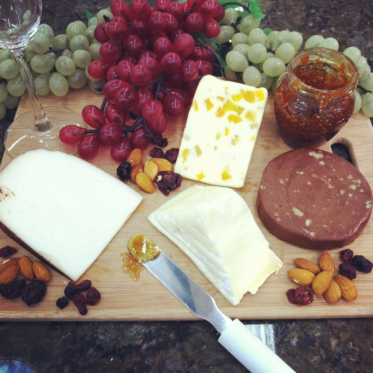 Cheese Dessert Plate - Carr Valley Cocoa Cardona White Stilton w/ Mango u0026 Ginger Carr Valley Chocolate Cheese Fudge Saint Angel. & Cheese Dessert Plate - Carr Valley Cocoa Cardona White Stilton w ...