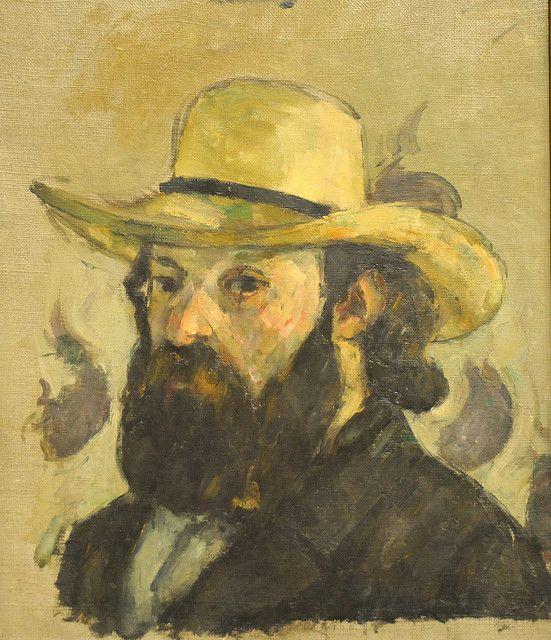 """Self-portrait"" by Paul Cézanne (1839-1906), French artist."