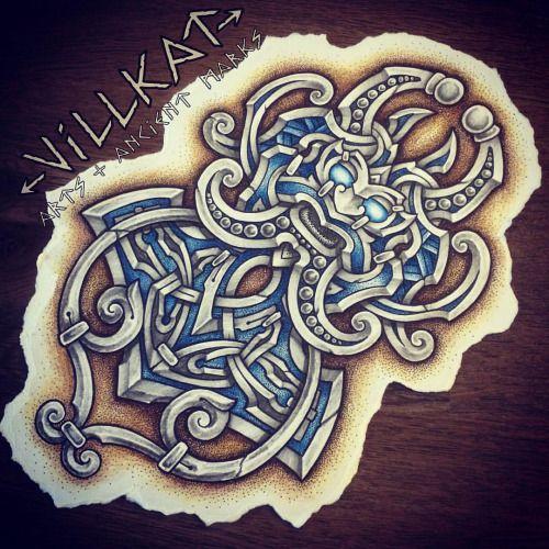 viking knotwork tattoo