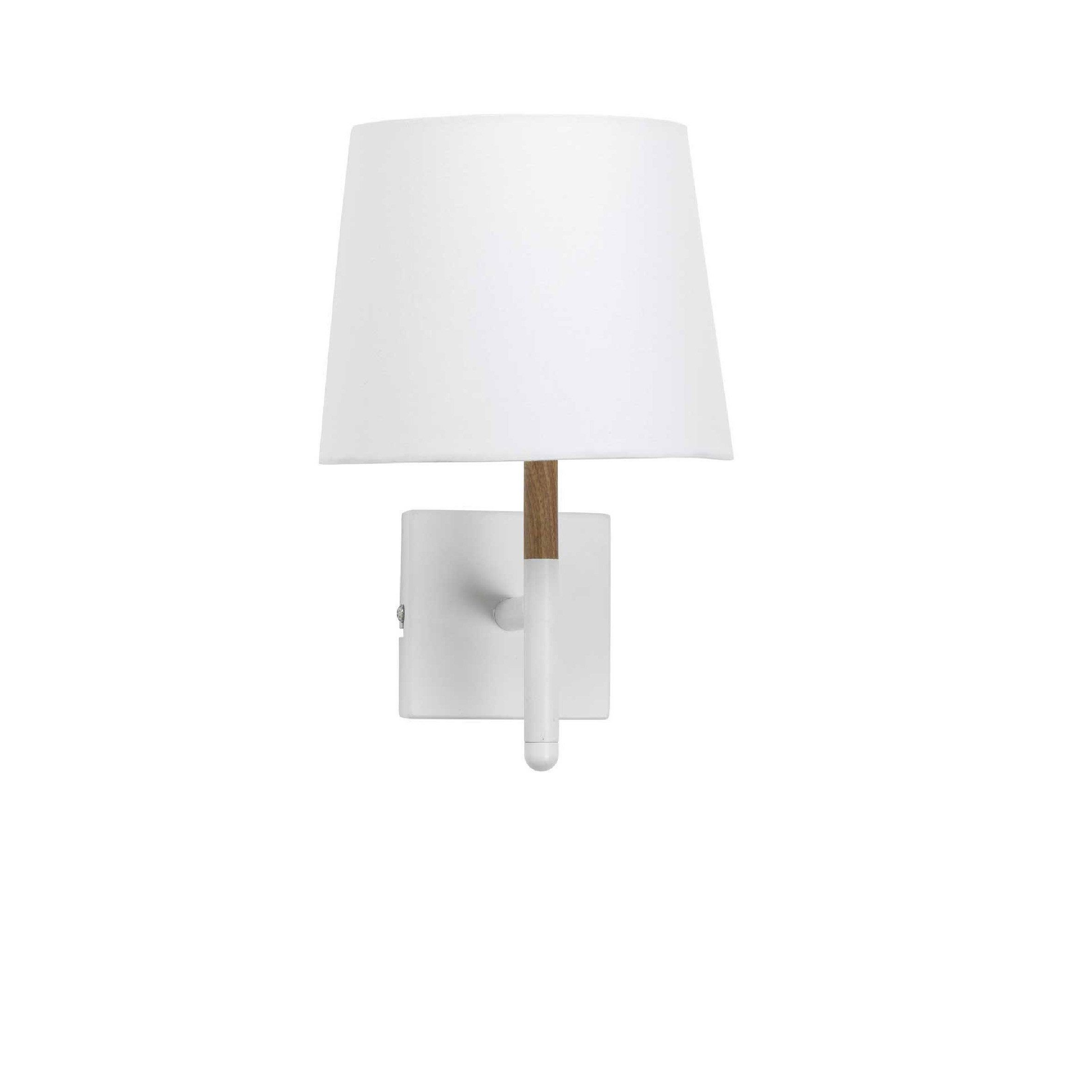 Applique Metal Blanc Mathias Lotta 1 Lumiere S En 2020 Applique Murale Blanche Luminaire