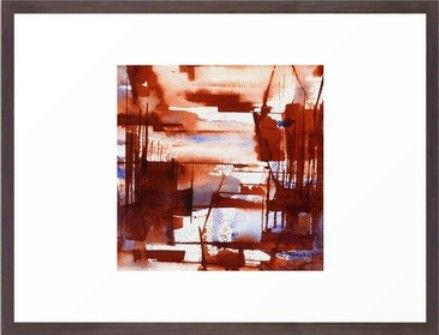 'shipyard' framed print  http://society6.com/agnesTrachet/shipyard-pCA_Print