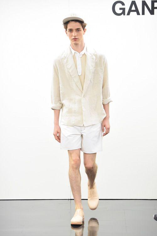 ガンリュウ 2015年春夏コレクション - 無垢な素材に、人工的なアクセントを取り入れて   ニュース - ファッションプレス