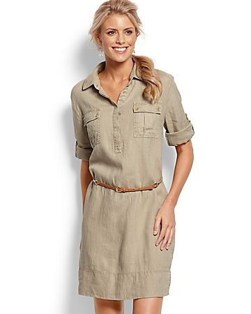 162fc527a Great dress for summer Safari Dress, Safari Outfits, Chic Outfits, Safari  Clothes,