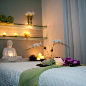 Massage room yelp salon relajante pinterest masaje - Decoracion zen spa ...