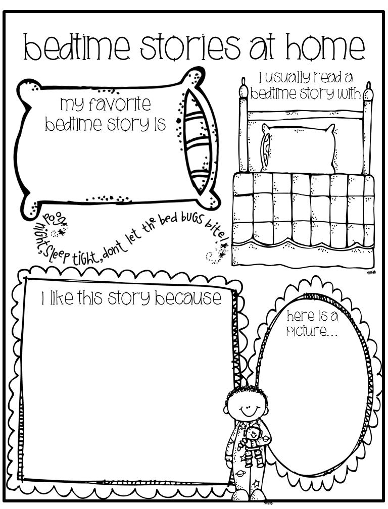 My favorite bedtime story Bedtime story theme