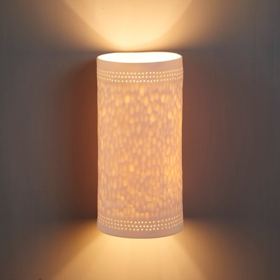 Cylinder Porcelain Wall Light Mount Modern Wall Sconce For Living Room Lighting Wall Lights Modern Wall Sconces