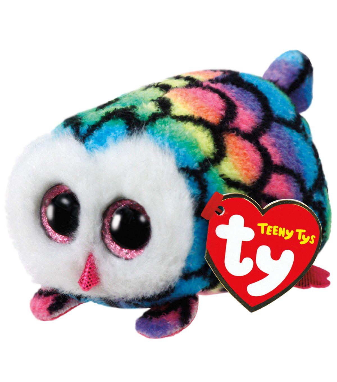 d1d294d4ecb TY Beanie Boo Multi Color Owl-Hootie in 2018