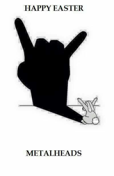 Happy Easter Metalheads! | Holidays That Rock | Metal horns