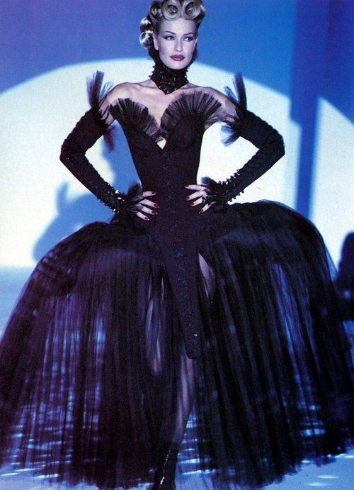 Karen Mulder for Thierry Mugler
