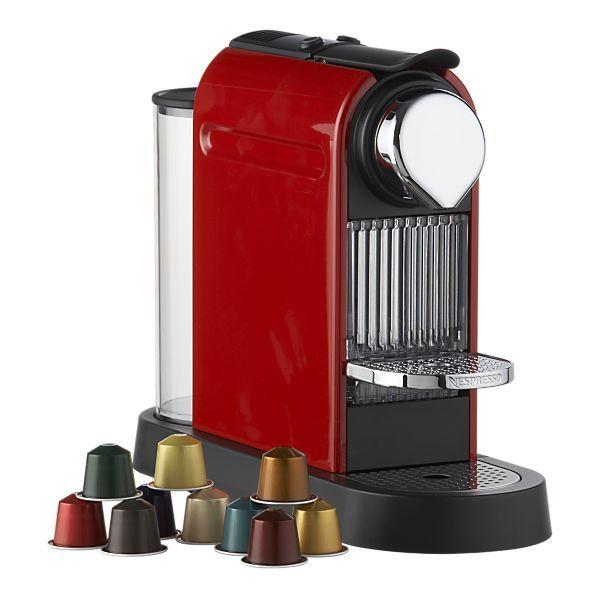 Espresso Maker And Espresso Machine Crate And Barrel Nespresso Espresso Machine Home Espresso Machine