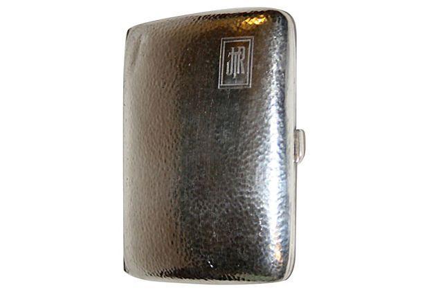 Sterling Cigarette Case on OneKingsLane.com