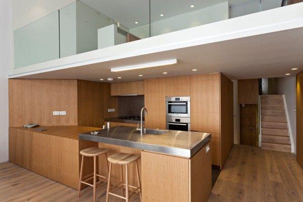 Central London Flat Par Vwbs  Mezzanine Lofts And Interiors Fascinating Kitchen Design For Flats Design Ideas