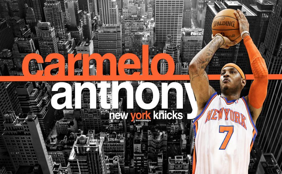 Carmelo anthony new york knicks hd wallpaper wallpapers carmelo anthony new york knicks hd wallpaper voltagebd Image collections