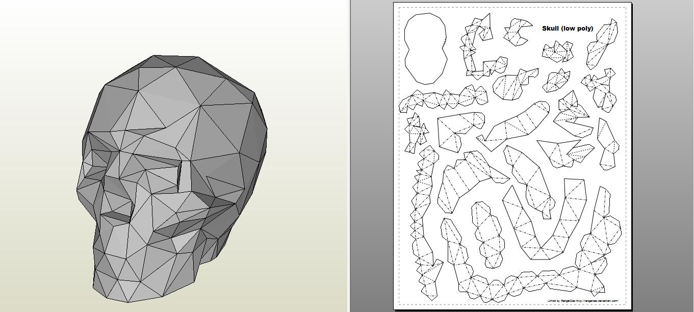 pdf rhino papercraft」的圖片搜尋結果 | Papercraft | Pinterest ...