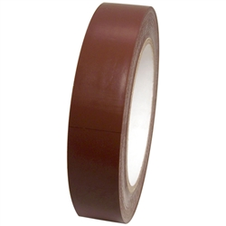 Dark Brown Vinyl Tape 1 X 36 Yard Roll Black Duct Tape Tape Chrome Plating