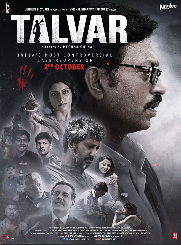 Talvar Movie Review By Rjaditi  Konkona Sen Sharma Movie And