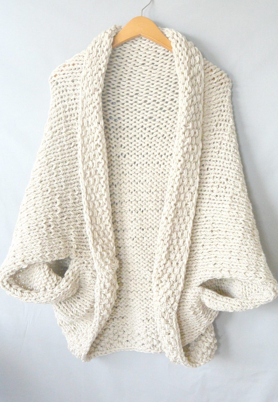 6ad07f4d73e32 How To Knit A Super Chunky Pullover The ultimate knitting accomplishment.  KNITTING. A. SWEATER. (cue dramatic music) The truth is that most sweater  patterns ...