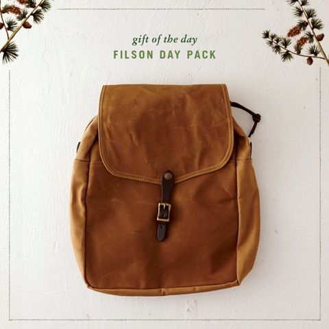 Filson Day Pack, from the 2014 Friends of Terrain Gift Guide.