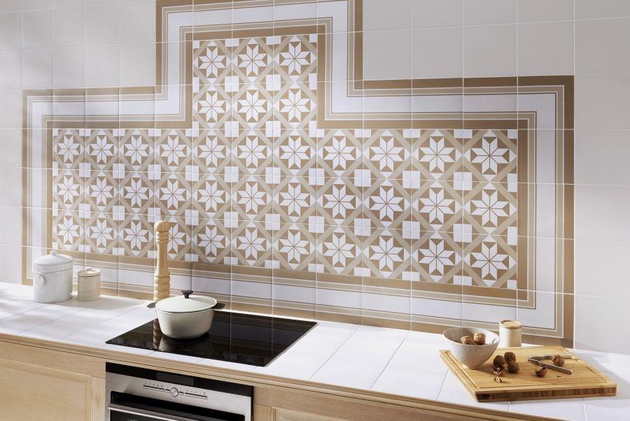 les carreaux de ciment inspirent la déco | décorer les murs