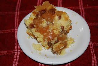 Caramel Apple Upside Down Cake Using An Apple Pie Filling