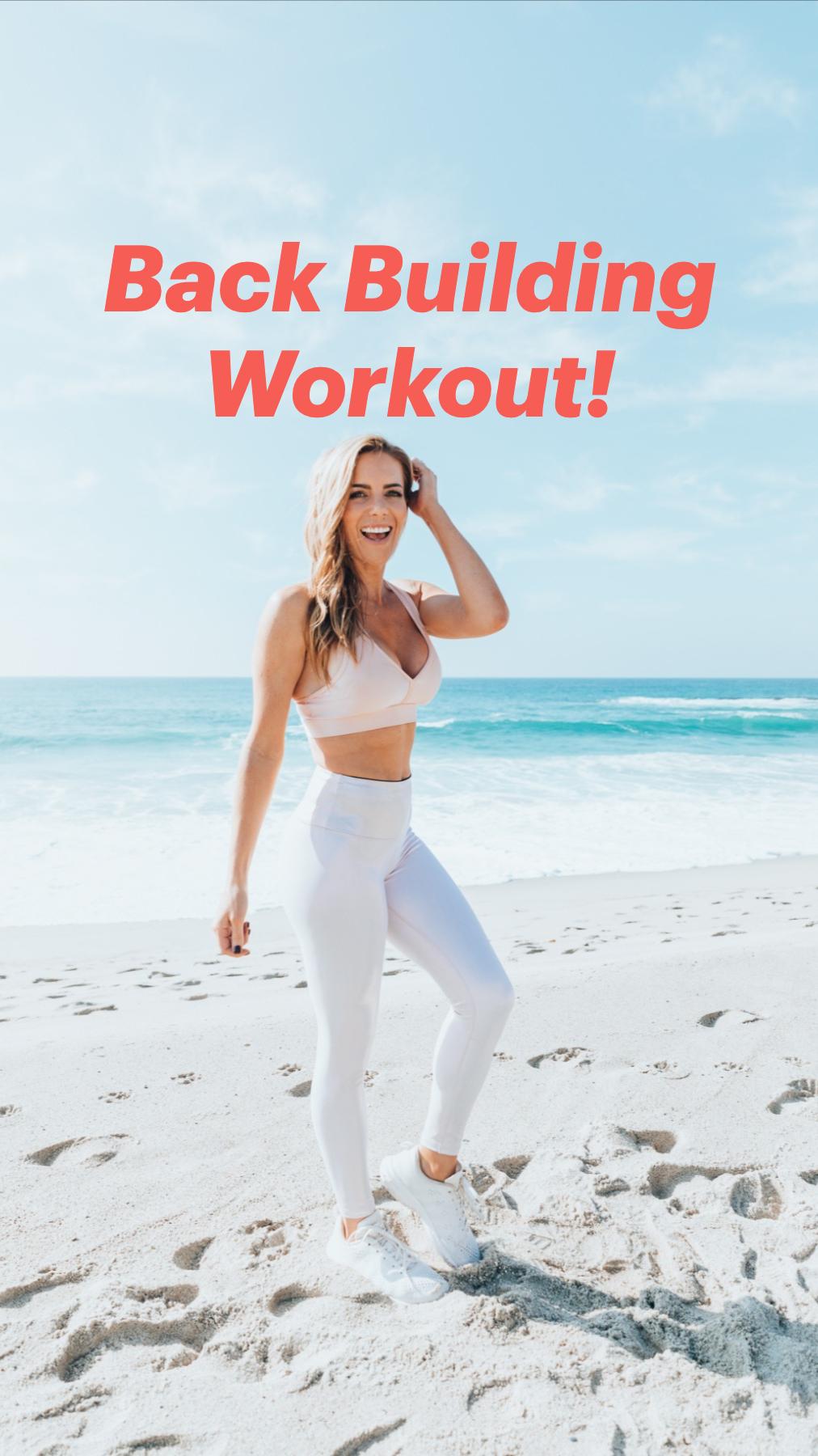 Back Building Workout!