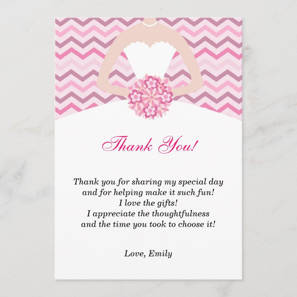 Thank You Cards for Bridal Shower or Baby Wedding Thank You Cards Online Thank You Cards Wedding Online DIY Thank You Card Template