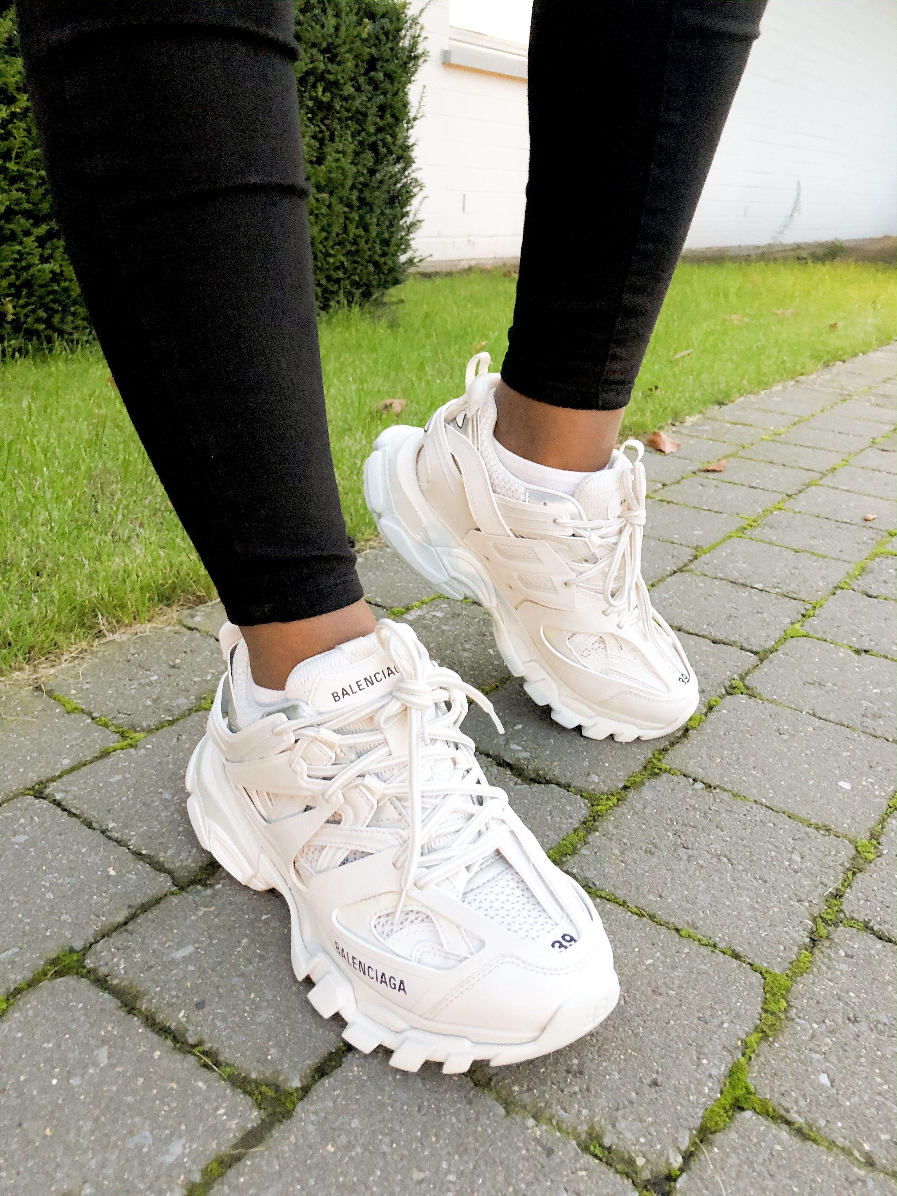 trendy white trainers womens