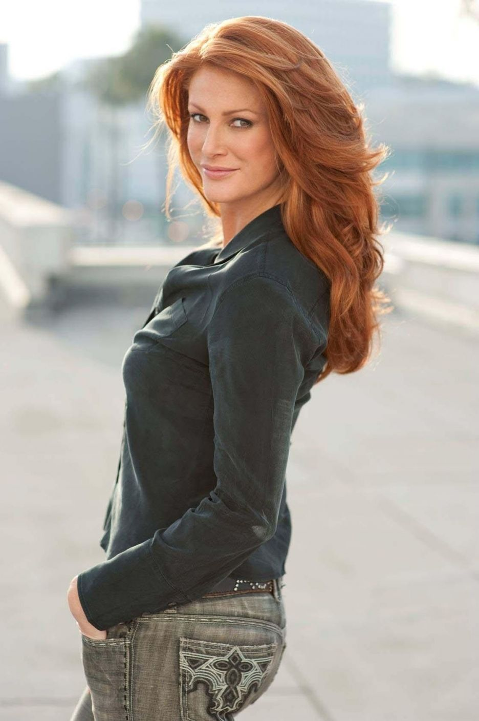 Angie Everhart Hot Videos angie everhartone of the most gorgeous redheads ever
