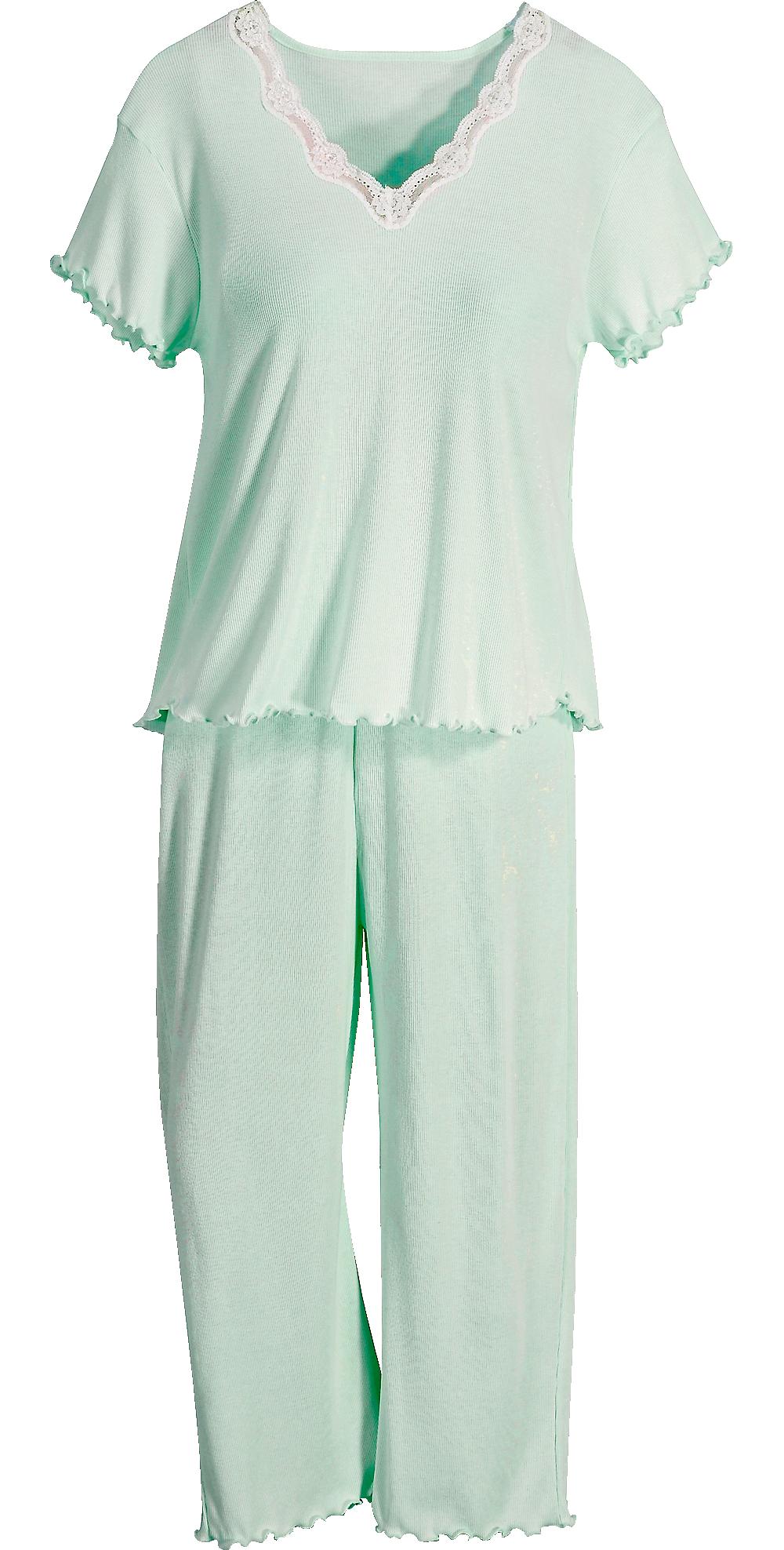 Women S Feelgood Capri Pajamas With Images Capri Pajamas