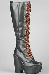 Jeffrey Campbell - The Expelled Boot in Black