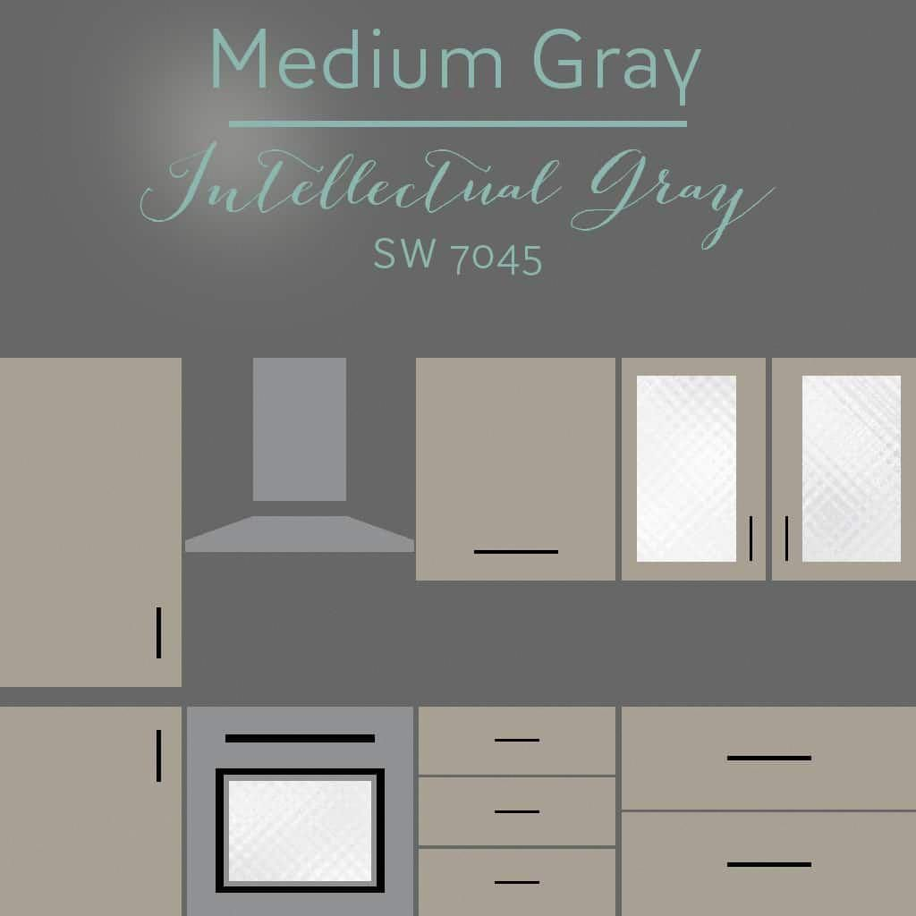 Best Intellectual Gray Cabinets Paintingkitchencabinets In 640 x 480