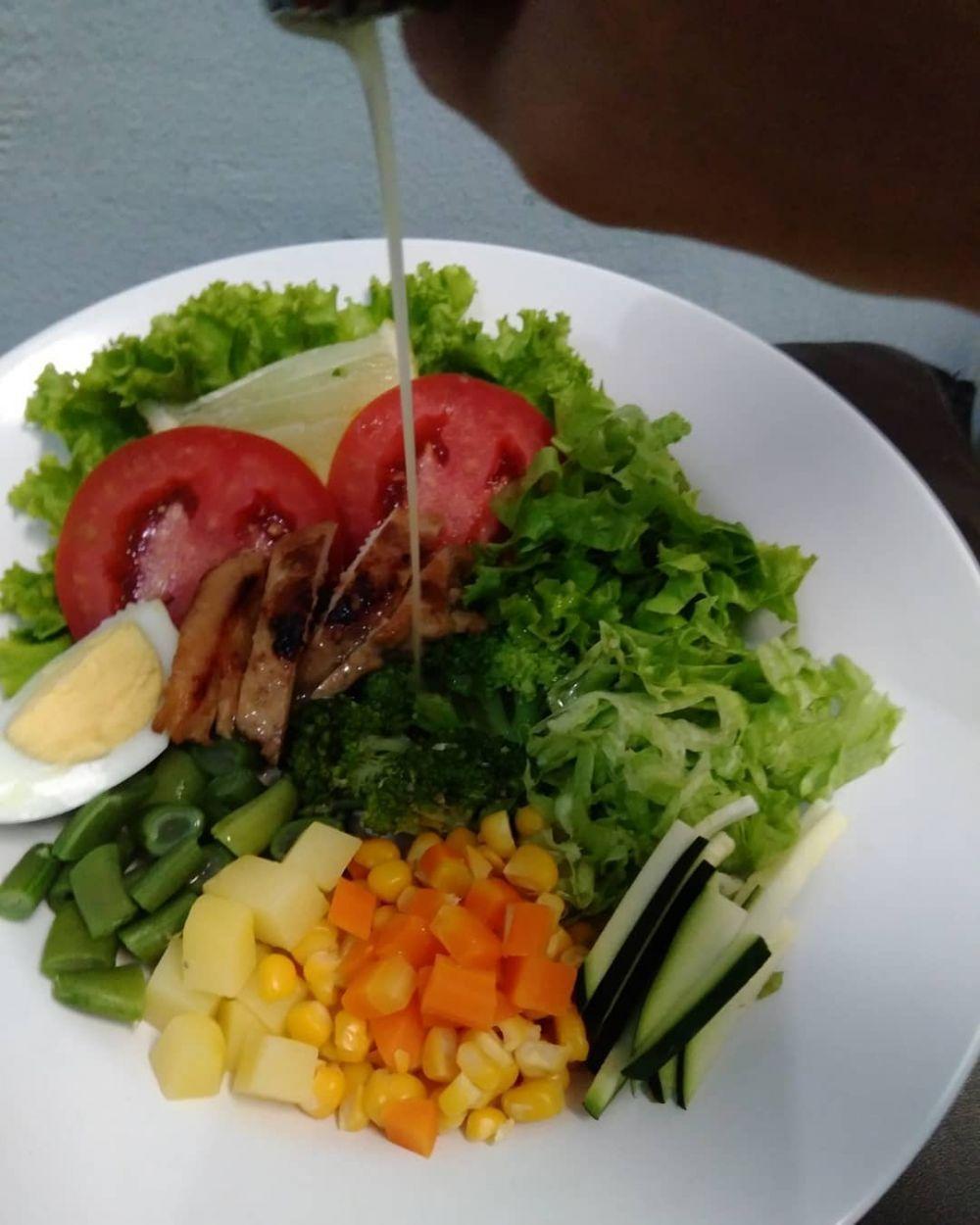 Resep Salad C 2019 Brilio Net Di 2020 Resep Salad Makanan Sehat Salad