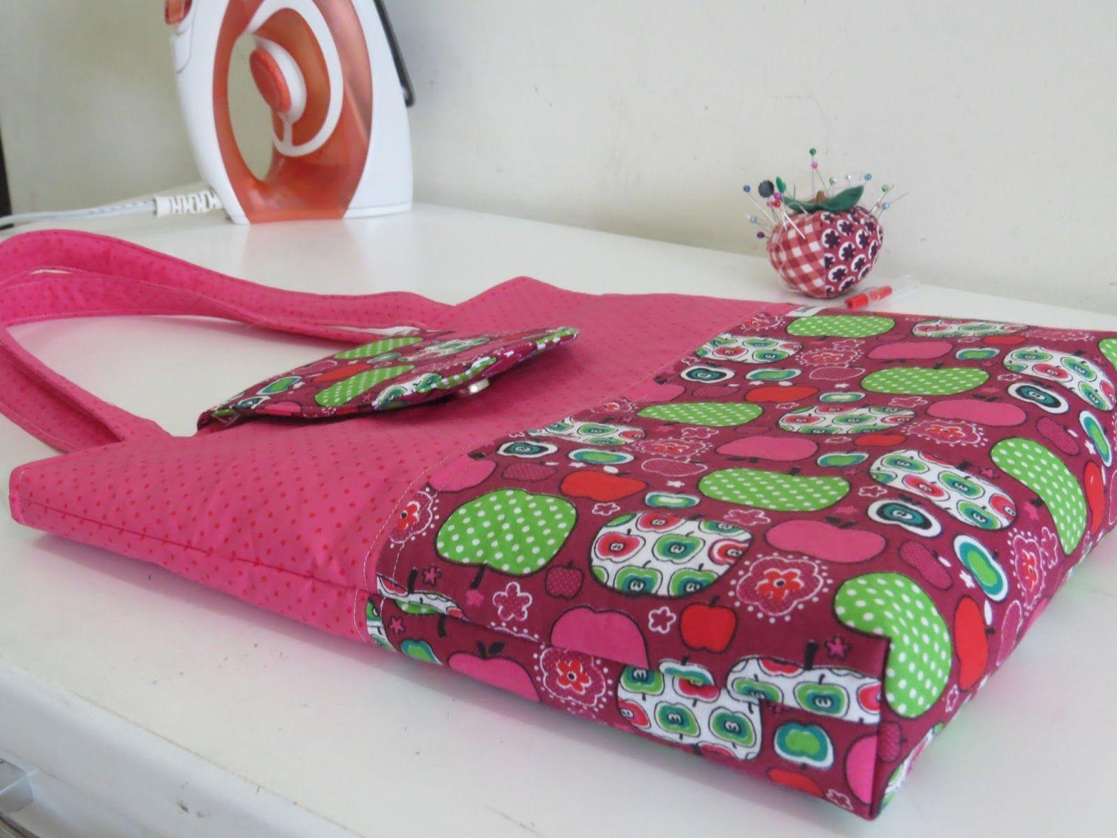 Bolsa De Tecido Rapida : Pap bolsa rapida tuto sac bolsas