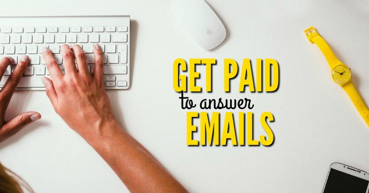 Can you really get paid to answer emails from home