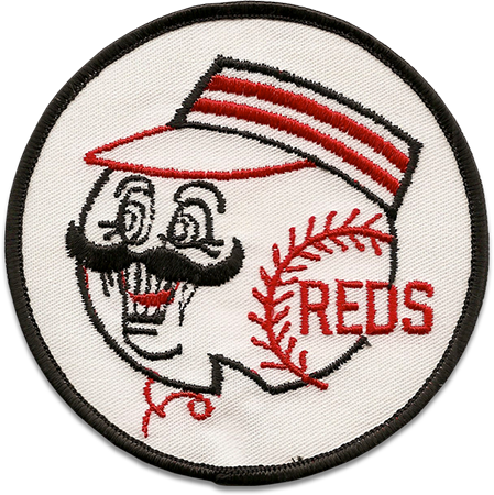 Cincinnati Reds Sports Logo Patch Patches Collect