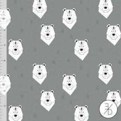 Elvelyckan Design - Polar bear grey