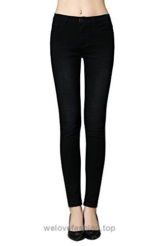 dfc45d6470 Butt Lift Skinny Jeans, ZLZ Women's Casual Stretch Jeans Leggings (6, Black)  BUY NOW $29.99 ZLZ Butt Lift Skinny Stretchy Jeans with special ZLZ  designing ...